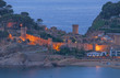 der beliebte Urlaubsort Tossa de Mar an der Costa Brava