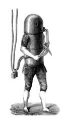 Scaphandrier - Diving Suit Project - Taucheranzug - end 18th