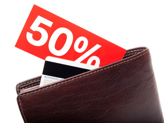 Discount wallet