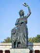 Leinwanddruck Bild - statue of bavaria