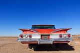 Fototapety Abandoned Old Car