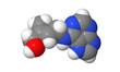 Plant hormone - Cytokinins - Zeatin - spacefill molecular model