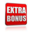 extra bonus red banner