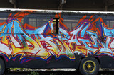 Fototapete Künstlerbedarf - Aronstab - Graffiti