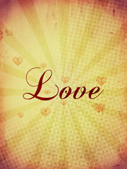 Love Vintage card