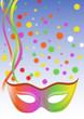 sfondo mascherina colorato