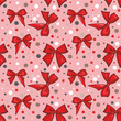 pattern with bows