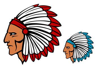 Brave tomahawk mascot