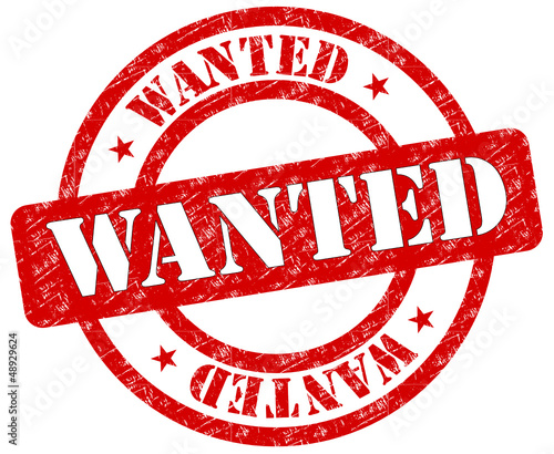 Wanted Stempel  #130126-svg03