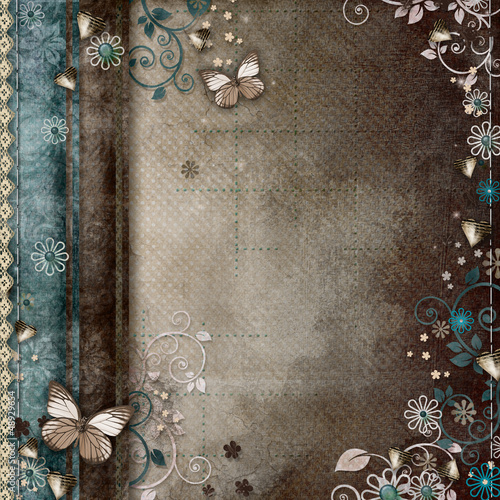 Vintage background for invitation or congratulation