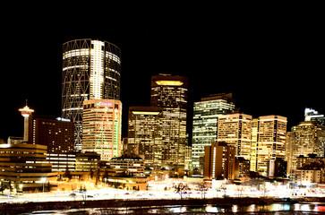 Night Shots Calgary Alberta Canada
