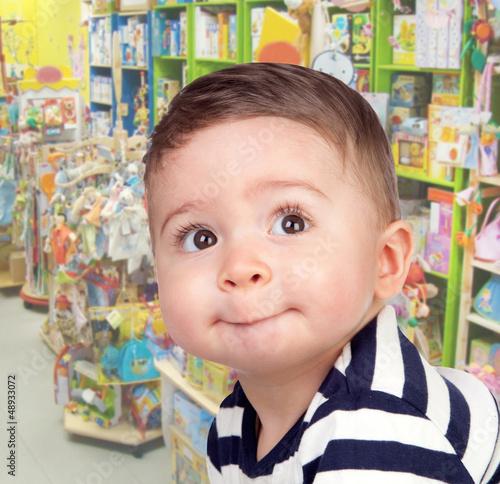 Beau bébé avec de beaux yeux
