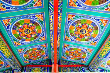 The ceiling of chinese