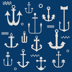 Various Anchor Collection - for your logo, design, scrapbook