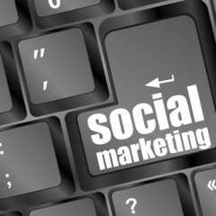 social marketing or internet marketing concepts, enter key