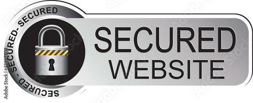 Secured Website Sticker