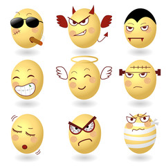 Egg Emotion Set2