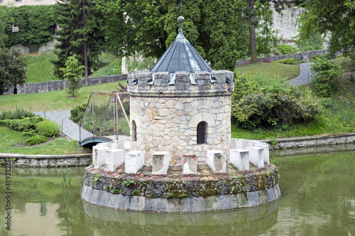 Turret in the lake