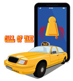 Fototapety Call of taxi