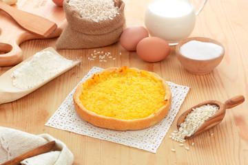 Torta di riso - Rice cake