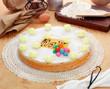 Torta di auguri - Greeting cake