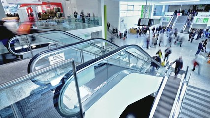trade fair staircase