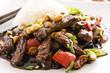 rindfleisch chinesisch mit reis