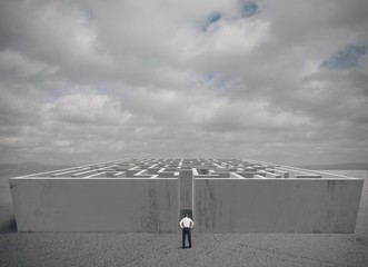 Business maze challenge