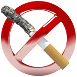 "vector ""no smoking"" symbol sign illustration"
