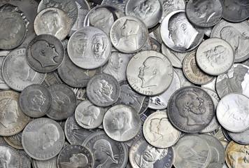 Silber - Silbermünzen mit Portraits