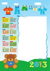 calendario base maschietto 2013