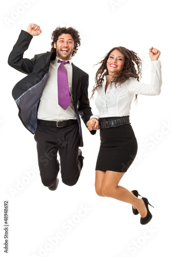 Jump if you like business