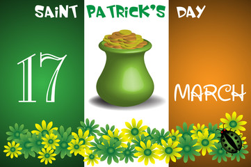 Saint Patrick greeting