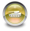"Yellow Glossy Pictogram ""Tank / Armored Vehicle"""