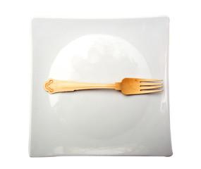 forchetta sul piatto