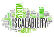 "Word Cloud ""Scalability"""