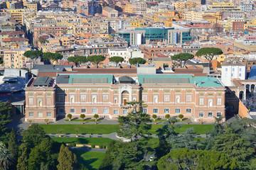 Giardini Vaticani - Palazzo del Governatorato in Vaticano