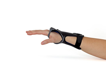 Carpal Tunnel Syndrome Brace.