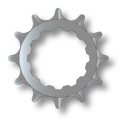 Bicycle Rear Cog