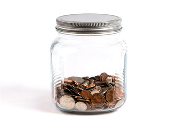 Coin Change Jar