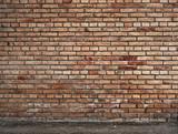 parete di mattoni
