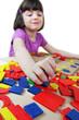 Montessori puzzle. Preschool.
