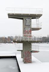 Sprungturm, Darmstadt