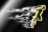 Fototapete Aktiv - Gewinner - Leichtathletik