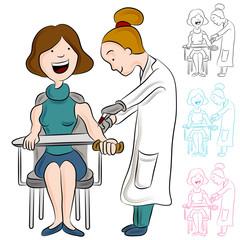 Blood Test Woman