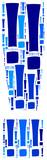 Niebieski wykrzyknik, grafika