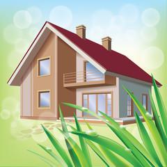Beautiful eco house