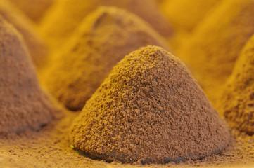 Praline composition - Chocolate truffle