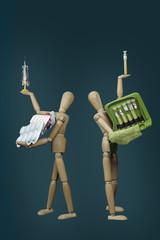 Schulmedizin und Homöopathie, h.