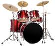 Leinwanddruck Bild - Schlagzeug